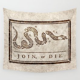 Join or die Wall Tapestry