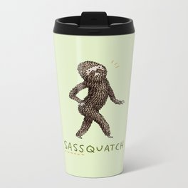 Sassquatch Metal Travel Mug