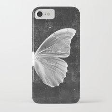 Butterfly in Black iPhone 7 Slim Case
