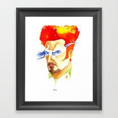 Tino Casal Framed Art Print