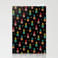 pineapples Stationery Cards featuring Pineapples! by Rendra Sy
