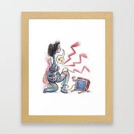 Rockin' Bod Framed Art Print