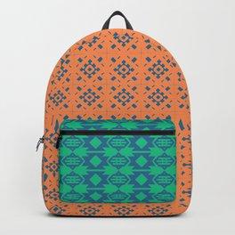 Bohemian Ethnic Mosaic Pattern Backpack
