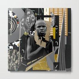 Negrobuias jazz - Hulitegi Metal Print