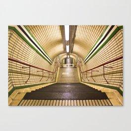 The Tube Canvas Print