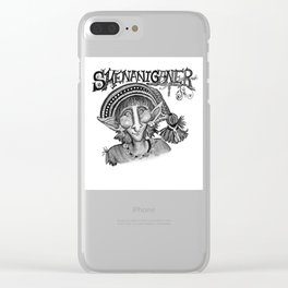 Shenaniganer Clear iPhone Case
