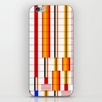 saga iPhone & iPod Skins featuring The Saga Begins by Whytes Online