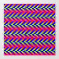 Zig Zag Folding Canvas Print