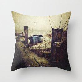 Rugged fisherman Throw Pillow