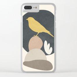 Cute Little Bird II Clear iPhone Case