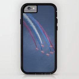 Red Arrows Loop iPhone Case