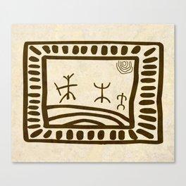 Ethnic 3 Canary Islands Canvas Print