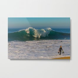 And the Bottom Drops Out Metal Print