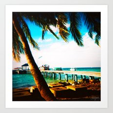 Maldives 02 01 Art Print