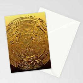 Golden Medallion Stationery Cards