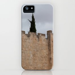 Wall of Old Jerusalem iPhone Case