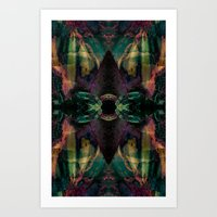 Forests Eye Art Print