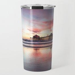 HB Sunset  12-22-18 Travel Mug