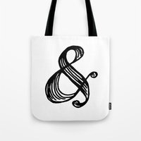 gatsby Tote Bags featuring Gatsby by annmariep