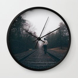 play nice or leave Wall Clock