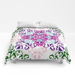 Hidden blossom Comforters