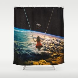 Being Lead Shower Curtain