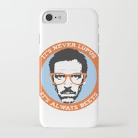 house md iPhone & iPod Cases featuring HOUSE MD: IT'S NOT LUPUS, IT'S BEETS by MDRMDRMDR