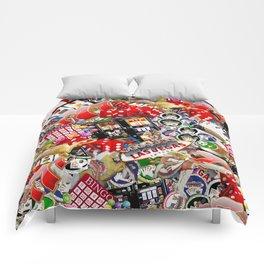Gamblers Delight - Las Vegas Icons Comforters
