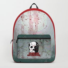 Hardcore Motherf*cker Rave Quote Backpack
