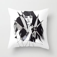 all of my dreams are memories Throw Pillow