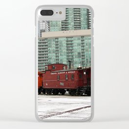 toronto trains Clear iPhone Case