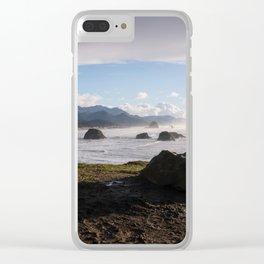 Oregon Coast Overlook Clear iPhone Case