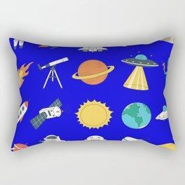 space astronaut Rectangular Pillow