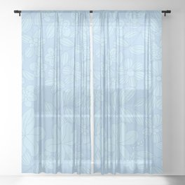 My Flower Design 2 Sheer Curtain