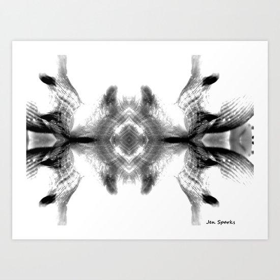 Shell Shocked Art Print