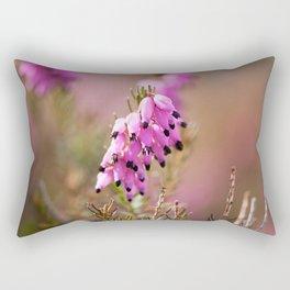 Heath Flowers Rectangular Pillow
