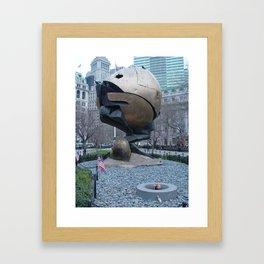 The Sphere Framed Art Print