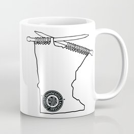 MKG Minnesota - Black Coffee Mug