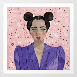 Boss Girl Art Print