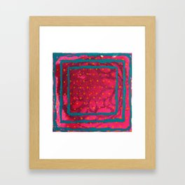 Don't Need No Vision Quest Framed Art Print