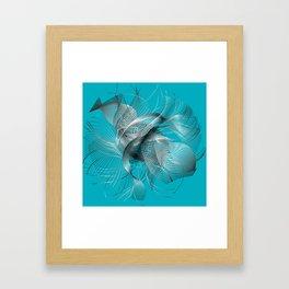 Abstract Fish Framed Art Print