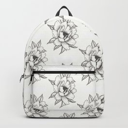 Peony Flower Backpack