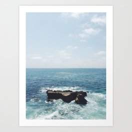 Ocean Rock Art Print