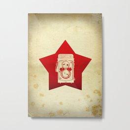Yashica Camera Metal Print