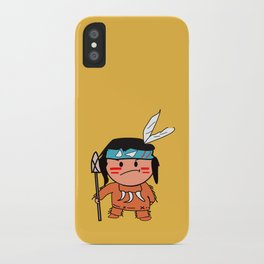 Little Red Indian iPhone Case