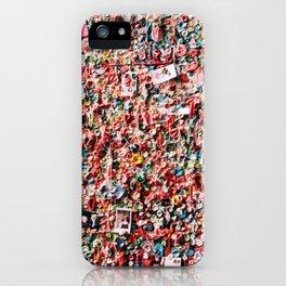 Gum Wall iPhone Case