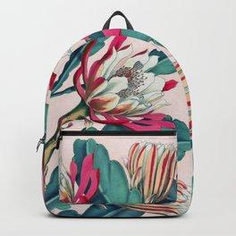 Flowering cactus IV Backpack