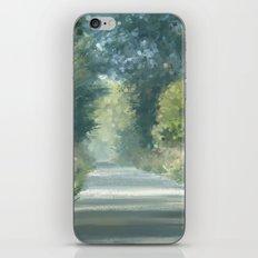 The road back home iPhone & iPod Skin