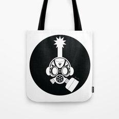 Post World Zuno : Gas Mask 02 by Zuno Tote Bag