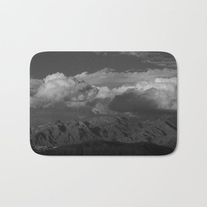 Virgin Mountains - B & W Bath Mat